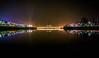 Hatirjhil, Dhaka ((͡° ͜ʖ ͡°)) Tags: dhaka hatirjhil lake waterscape reflaction longexposure night lights cityscape outdoor park
