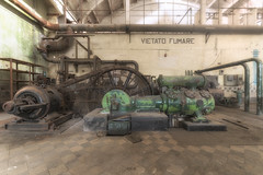 Pump! (Lo.Re.79) Tags: abandoned decay exploration forgotten industry italy machinery pipes powerplant urban