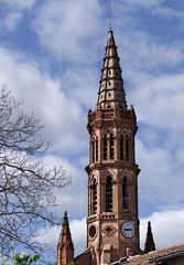 Corronsac 31450. Clocher de l'Église Notre-Dame. (sergeimbert) Tags: hautegaronne corronsac31450 eglises lauragais