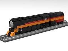 Micro Daylight (Bowtied Trombone) Tags: lego mini micro train daylight
