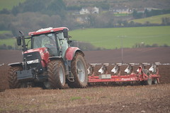 Case IH Puma 230 CVX Tractor with a Kverneland 7 Furrow Plough (Shane Casey CK25) Tags: case ih puma 230 cvx tractor kverneland 7 furrow plough cnh casenewholland red midleton ploughing turn sod turnsod turningsod turning sow sowing set setting tillage till tilling plant planting crop crops cereal cereals county cork ireland irish farm farmer farming agri agriculture contractor field ground soil dirt earth dust work working horse power horsepower hp pull pulling machine machinery nikon d7100 traktor tracteur traktori trekker trator ciągnik