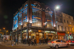 Rose and Crown (Tony Shertila) Tags: 20170128205714 centralward england gbr liverpool unitedkingdom geo:lat=5340716550 geo:lon=297942996 geotagged outdoor europe britain merseyside limestreet crownhotel inn pub weather night clear building architecture