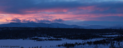Mountain sunset      Explored 6.3.2017 (K. Haagestad) Tags: jotunheimen norway sunset wpanointer snow clouds view