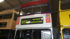 Extra destinations fitted (because_stickers) Tags: westmidlandstravel wmbus wmt preservedbus preservation 3053 mcw metrobus mk2a coventry route900 birmingham airport