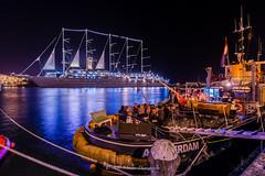 _DSC0671 (jazzmatezz) Tags: nightphotography holland amsterdam island evening java nederland sail tallship ij eiland zeilboot zeilschip 2015 amsterdamnoord sumatrakade kapal avondfotografie belanda remeiland oostveer kompaseiland