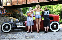 Testosterone, Estrogen, and Paint (Mark Birkle) Tags: trestle original red hot sexy ford 1948 ass car female rural train graffiti foxy diy photo cool model rat aluminum paint flat image kick body head cam grunge low country 1938 wheels bad picture engine smith retro chevy clay wicked heads rod motor kelsey hayes custom 1928 grind v8 transmission kool s10 oneoff flatty 5speed ¾ rodder a 8ba