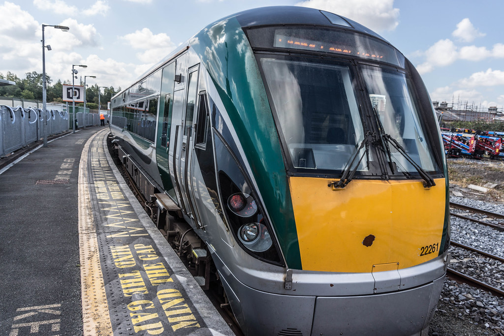 THE MINISTER PLUS PLATFORM 10 AND THE PHOENIX PARK RAILWAY TUNNEL [NOT FORGETTING IRISH RAIL STAFF] REF-107099