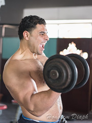 Kel-12 (H.Diaph) Tags: man sexy men training exercise muscle chest manly arab arabe beast biceps fitness gym shredded exciting beastmode