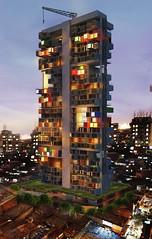 Концепт модульного небоскреба от Ganti Asociates