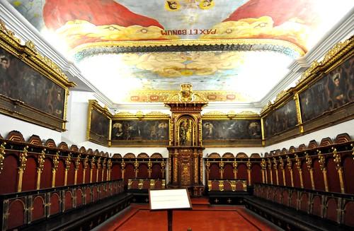 Lima (Perú). Convento de San Francisco. Claustro. Sala capitular