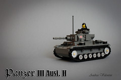Panzer III (kr1minal) Tags: 2 lego iii wwii panzer moc brickmania 3tank