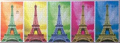 Pop Art Paris - KS - 1000 Teile (.Francine) Tags: paris art pop puzzle eiffelturm fotostream
