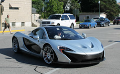 McLaren P1 (SPV Automotive) Tags: sports car silver exotic mclaren coupe supercar p1 hypercar