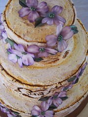 P1011139 (KendrasCountryBakery) Tags: wedding art cake weddingcake batman dogwood edible newlyweds birchtree fondant gumpasteflowers edibleart mrandmrs tieredcake dogwoodflowers fondantflowers fondantartist