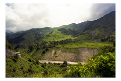 (muellerinnen-art) Tags: mountains green film clouds georgia berge analogue fm3a 2014 kaukasus