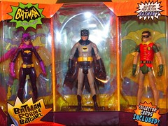 Christmas came early to the attic! (Toyz in the attic) Tags: robin dc 1966 batman batgirl mattel adamwest burtward yvonnecraig dcuc