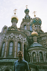 The Church of the Savior on Spilled Blood (adam sharp) Tags: portrait colour building texture church architecture stpetersburg mju russia olympus dome fujifilm saintpetersburg superia400 mjuii stp mju2 fujifilmsuperia400 fujifilmsuperia μmjuii olympusμmjuii