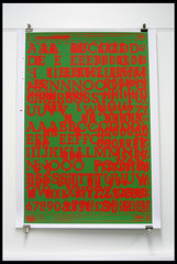 Beton Print 1 (lou_and_jim) Tags: graphicart graphicdesign screenprint letraset