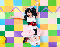 Love Live Mogyutto! (bdrc) Tags: girls portrait game anime cosplay group maid lovelive asdgraphy mogyutto