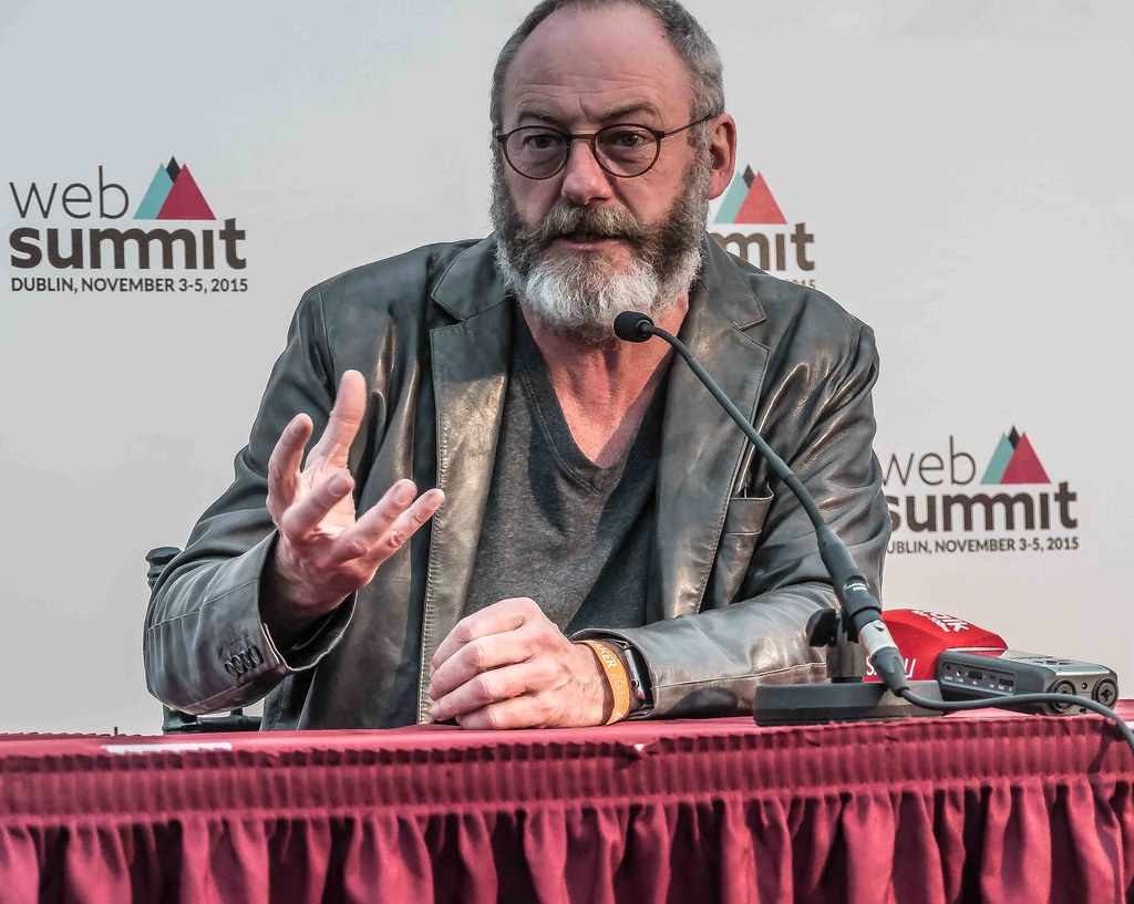 WEB SUMMIT 2015 - LIAM CUNNINGHAM MEETS THE PRESS [ACTOR]-109593
