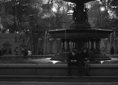 Hypnotic Glow (beanhead4529) Tags: park city nyc newyorkcity urban night centralpark manhattan bethesdafountain microfourthirds olympus45mm olympusem5