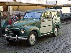 "Topolino (guckma) Tags: italien italy rome roma car vintage italia belvedere rom kombi fiat500 topolino trestevere giardinera belvedere"""