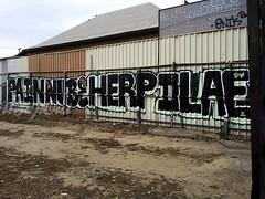 PAIN NUBE HERP DLAE (UTap0ut) Tags: california art cali graffiti la los pain paint angeles socal cal graff nube herp dlae utapout