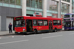 Go Ahead London General Ex-Blue Triangle Transbus Pointer Dart SLF DP196 EU53PYB in Victoria (Mark Bowerbank) Tags: london ahead triangle general pointer go victoria dart slf transbus exblue dp196 eu53pyb