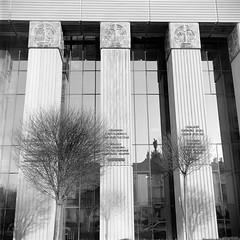 Supreme Court of Poland, Warsaw (M.M.A.K.) Tags: 6x6 mediumformat poland warsaw fujineopanacros100 fujifilmneopan100acros start66s film:brand=fuji film:iso=100 film:name=fujineopanacros100 filmdev:recipe=10499