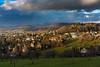 before the storm (mimayerle) Tags: autumn fall clouds outdoors schweiz switzerland europa seasons herbst hills draussen zofingen heiternplatz aargauag