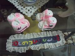 DURU'nun conversleri (4) (rgantam) Tags: babybooties rg bebekpatii bebekrgleri knittingconvers rgconvers bebekpatikleri durununcicileri elemeihandmade