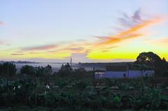 Sunrise (Capturedbyhunter) Tags: autumn sol portugal k 30 sunrise landscape europa do pentax outdoor paisagem santarm fernando 28 marques smc f28 outono k5 nascer ribatejo coruche 30mm caador agolada fajarda