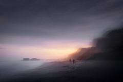 East Runton (ICM) vr two 12/12/2015 (Matthew Dartford) Tags: ocean sea tree beach backlight sunrise landscape coast colorful glow norfolk wide wideangle coastal bloom backlit colourful icm goldenhour eastanglia cromer happisburgh sidelight eastrunton breakinglight intentionalcameramovement castinglight