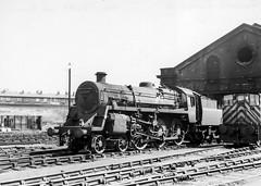 Bank Hall (4486Merlin) Tags: england bw liverpool europe northwest unitedkingdom transport steam railways merseyside gbr 8k 75049 exbr brstd4mt460 bankhallmpd