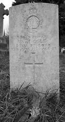 CWGC Private A H Ogle Royal Fusiliers (IanAWood) Tags: pinner londoncemeteries londonboroughofharrow walkingwithmynikon nikkorafs24mmf14g pinnercemetery nikondf