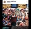 Tube painting goes outside (London_Sketches) Tags: portraitpainting portrait suk londonunderground london oil oilpainting art underground tubepaiting painting londonart londoart likenonart tube tubepaintingundergroundportraitstulareartbelow