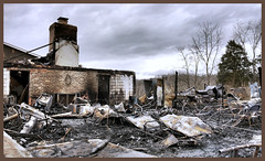 Day 353 Our Campground Recreation, restaurant and social hall destroyed (Dragon Weaver) Tags: 2016 1218 pad dec ft royal nfr campground northfork resort virginia fire destroyed