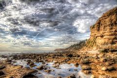 Point Fermin Tide Pools (Michael F. Nyiri) Tags: pointfermin sanpedro palosverdespeninsula tidepools ocean sky clouds