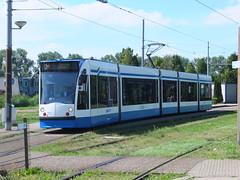 Amsterdam 2057 Sloten (Guy Arab UF) Tags: amsterdam gvb 2057 siemens combino c1 five section articulated tram sloten terminus holland netherlands nederland trams tramway strassenbahn