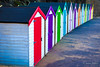HutHutHut (JKmedia) Tags: hut huts newquay beach colour colourful 2016 boultonphotography canoneos7dmarkii vanishing point leading lines wood manmade holiday coast painted bright