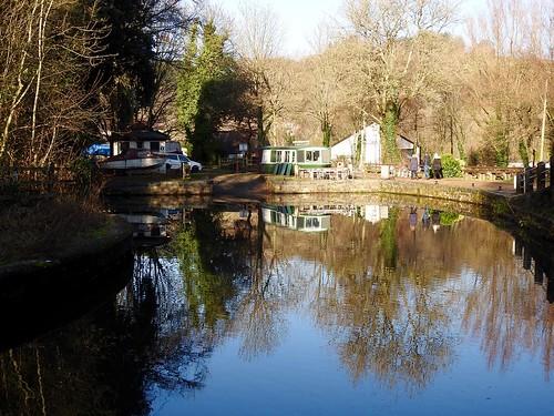 Pontymoile Basin, Monmouthshire-Brecon Cansl, Pontypool 28 December 2016