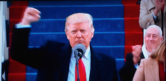"""""""This American carnage stops right here and stops right now."""" (Thomas Cizauskas) Tags: inauguration trump obama politics government pickoftheweek"""