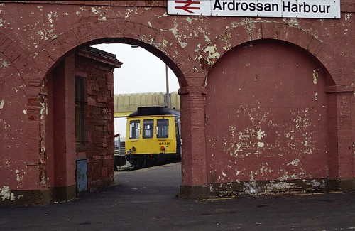 British Rail class 107 dmu Ardrossan Harbour