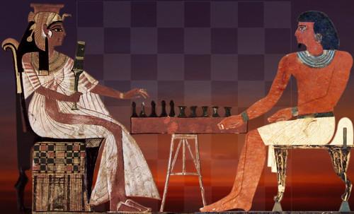"Senet - Lujoso sistema de objetos lúdicos obsequio del dios Toht a la faraona Nefertari • <a style=""font-size:0.8em;"" href=""http://www.flickr.com/photos/30735181@N00/31709924003/"" target=""_blank"">View on Flickr</a>"