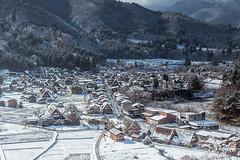 合掌村 (Thunderbolt_TW) Tags: 日本 白川鄉 合掌村 canon japan hy bai landscape snow winter 雪景 風景攝影 新年 世界遺產 historic villages shirakawago gokayama