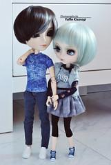 """Let's take a round..."" (·Yuffie Kisaragi·) Tags: doll dolls pullip creators label galene brow taeyang mj custom akai arashi abel obitsu rewigged rechipped"