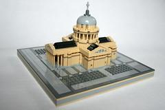 LEGO Pantheon 1 (xtitus) Tags: lego micro pantheon paris architecture
