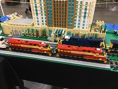 Train Meet (brickbuilder711) Tags: lego town train greater florida users group gflug tampa show gfltc club robin werner
