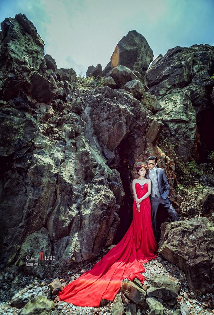 蕾絲馬甲,新人婚紗,十三層遺址,煙管,東北角,婚紗攝影