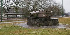 Tank turret near Bastogne